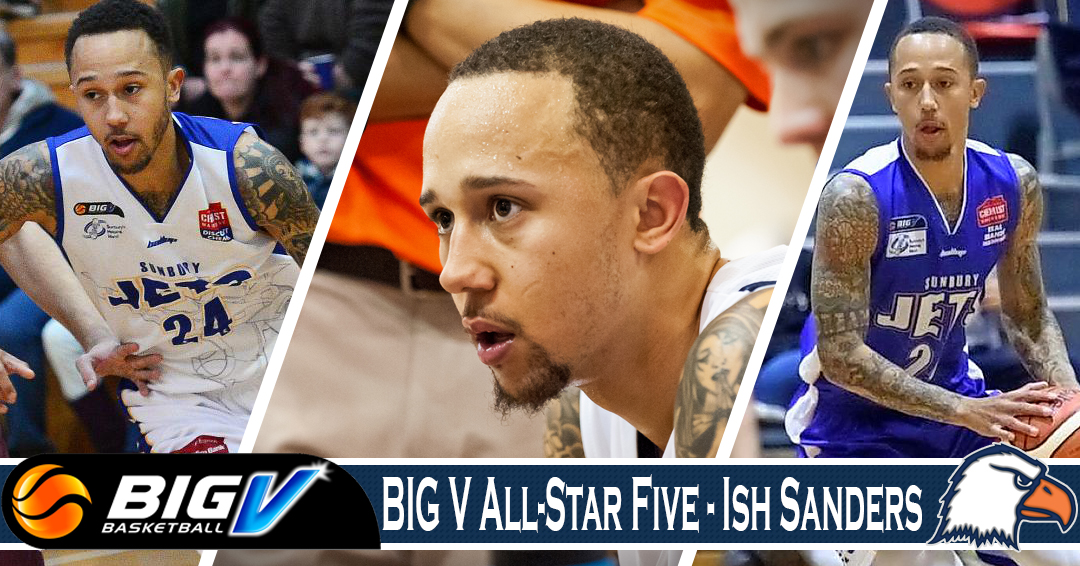 Sanders lauded with Big V All-Star Five honor