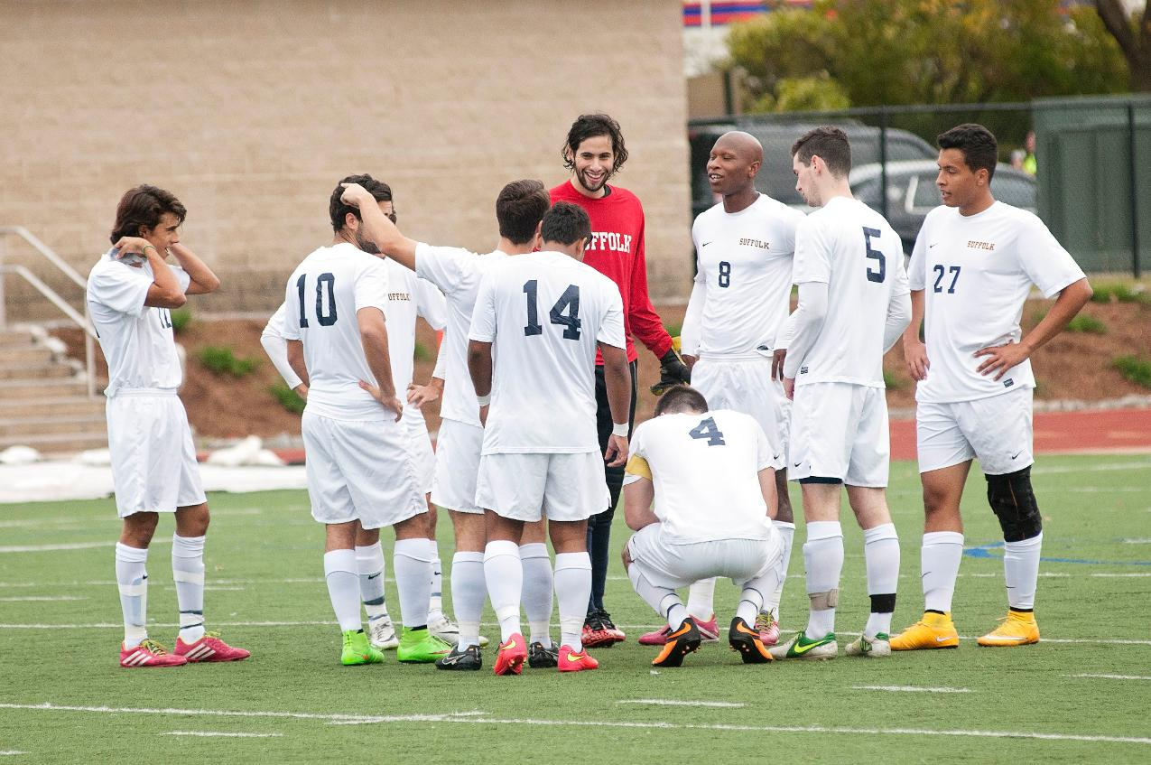 Pine Manor Topples Men's Soccer