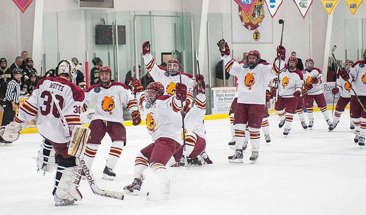 Ferris State Captures Shootout Win In Heated Battle With #6 Western Michigan