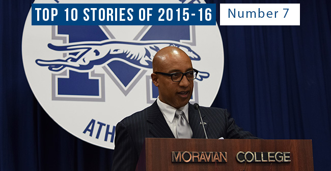 Top 10 Stories of 2015-16 - #7 George Bright Comes to Moravian as Director of Athletics