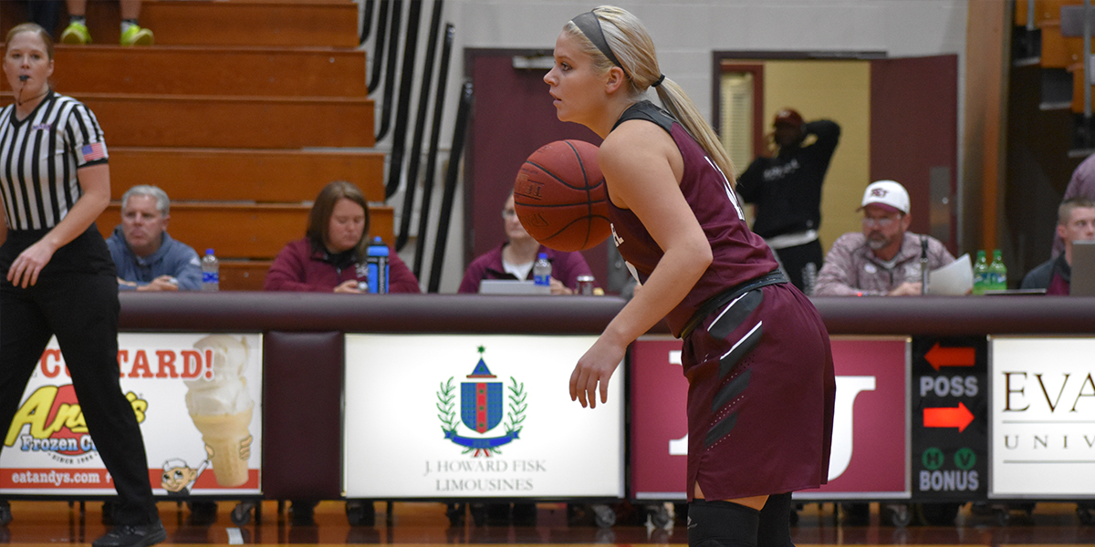 Evangel Women's Basketball Rallies to 64-47 Road Victory at Clarke