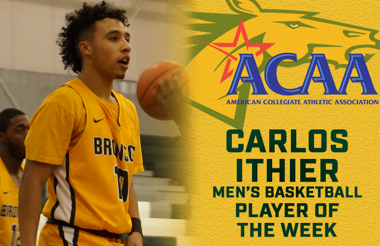 Ithier's Career Performance Awarded with ACAA Player of the Week