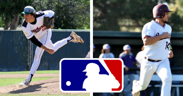 Cosby of Chapman and Aguilar of Redlands Selected in 2018 MLB Draft