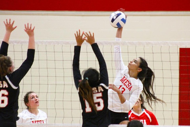 Mesa Takes Down Benedictine JV in Four Sets