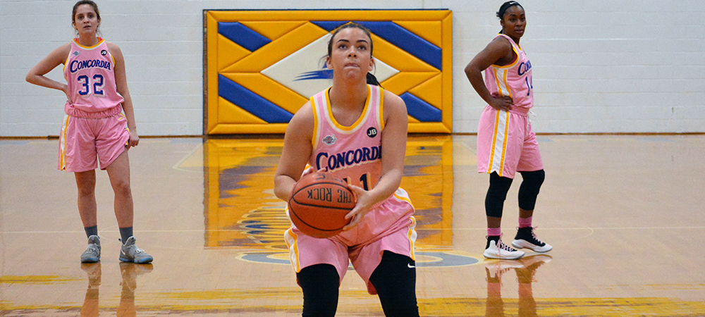 Concordia Women's Basketball Upended by Felician, 66-55