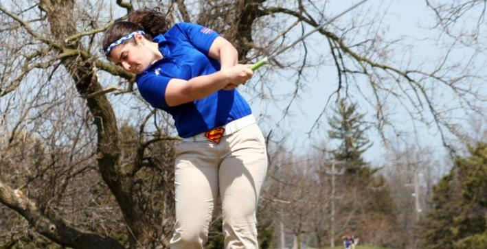 Puch wins medalist honors, Women's Golf fourth at Edgewood Spring Invite