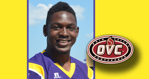 Rogers shares OVC Newcomer of the Week to cap off first week at TTU
