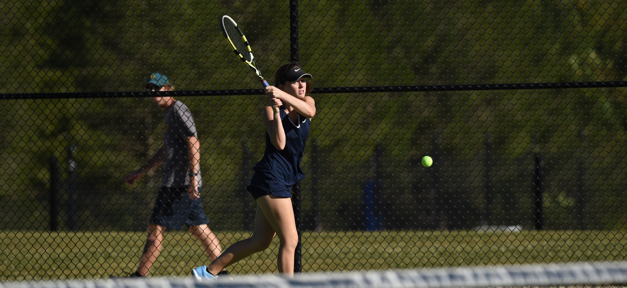 Women's Tennis Falls to Catholic in Landmark Conference Match