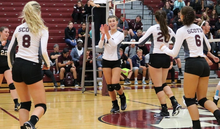 Volleyball Drops Just One Set Over First Two Matches