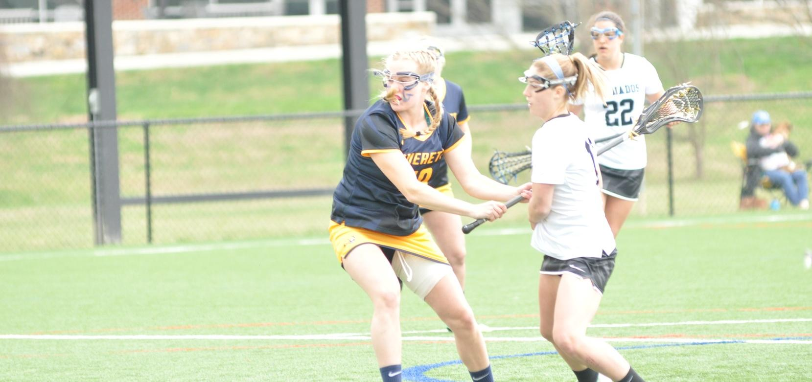 Pfeiffer Takes Conference-Opener from Brevard, 16-4