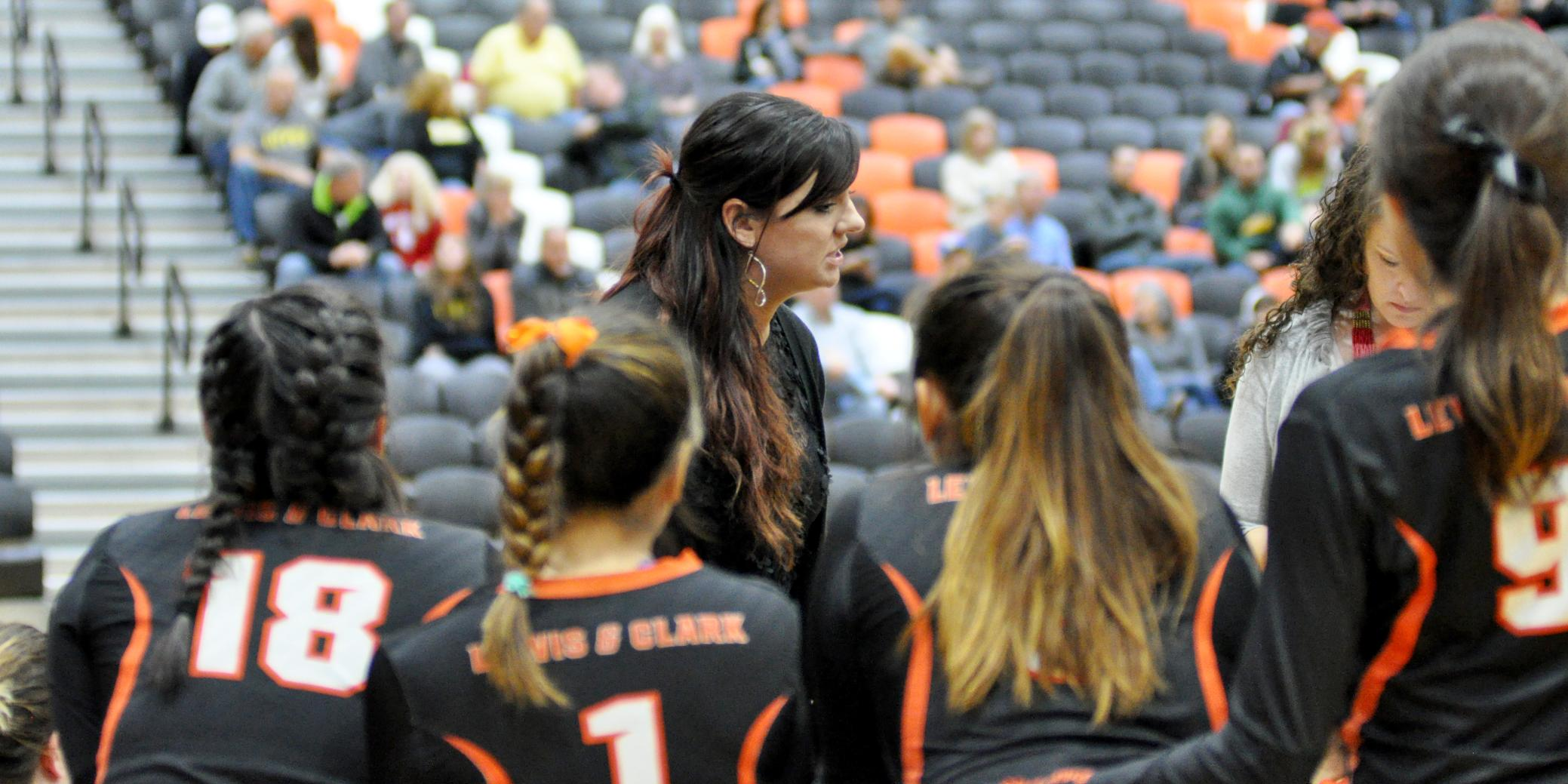 Pios end long home stretch with loss to PLU