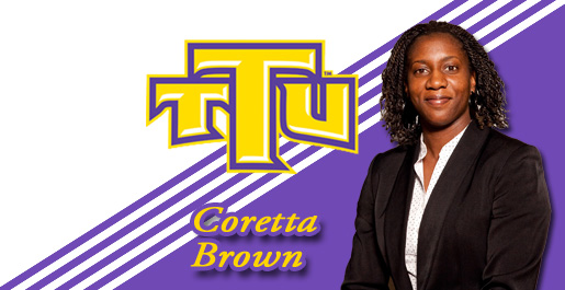 Former WNBA player Coretta Brown joins women's basketball staff