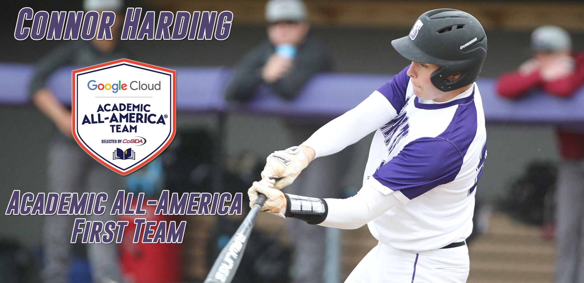 Connor Harding Academic All-America First Team Selection.