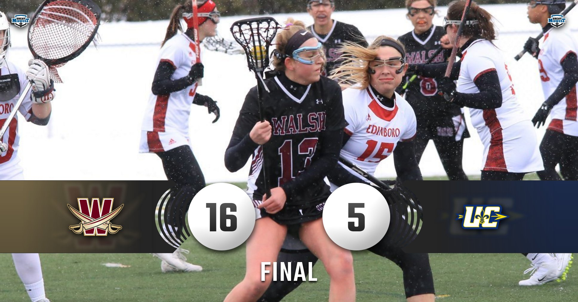 Cavaliers Win Second Straight, 16-5