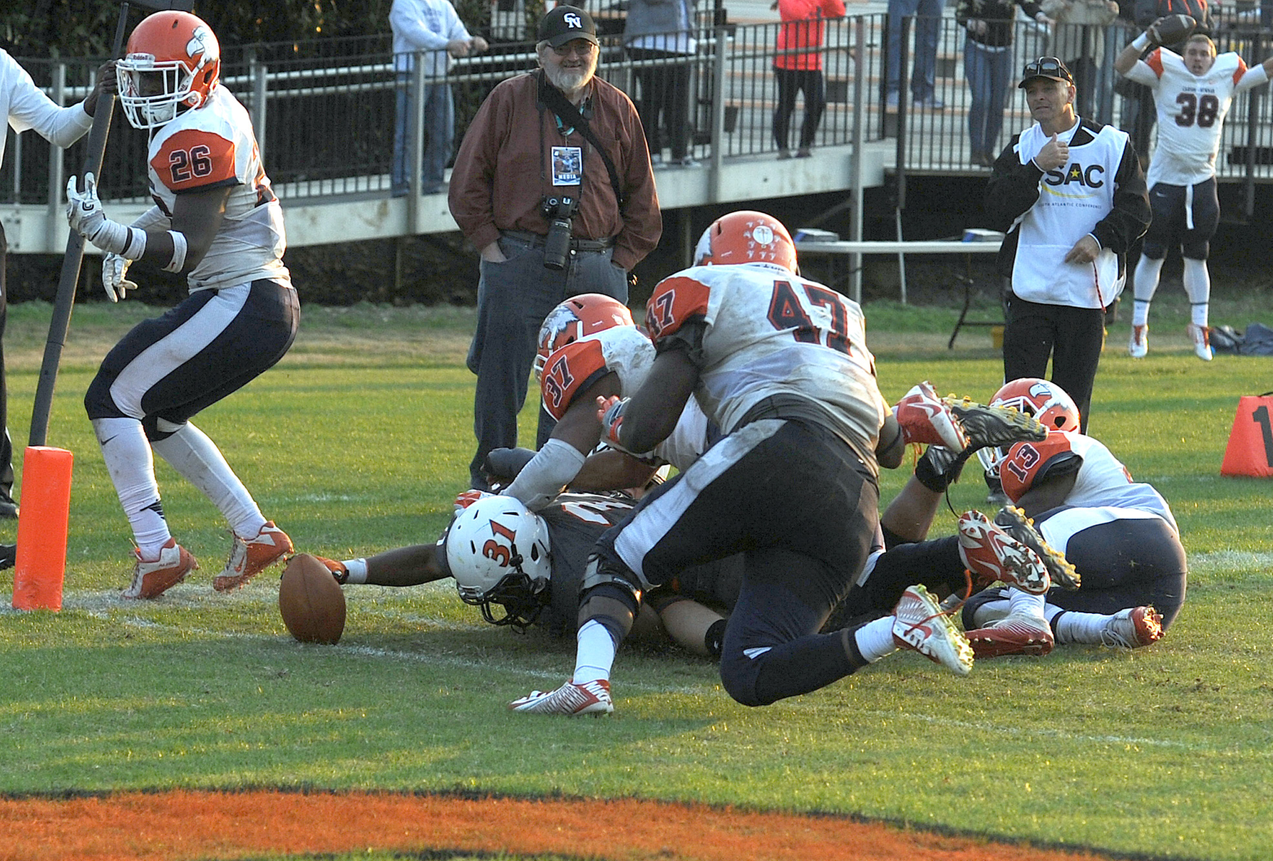 Pioneers stun Eagles with two-point conversion in overtime
