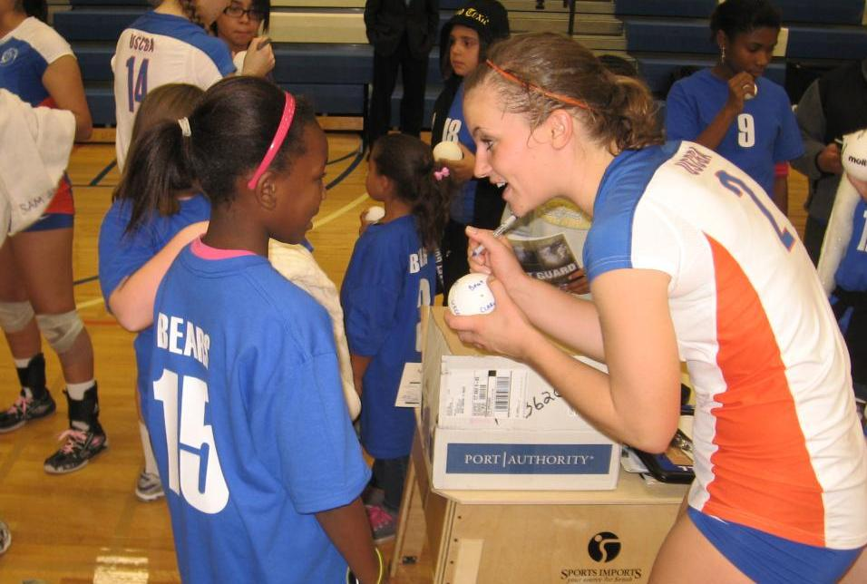 Volleyball team to Host Little Bear Night