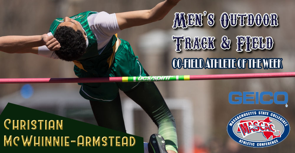 McWhinnie-Armstead Named MASCAC Men's Outdoor Co-Field Athlete Of The Week