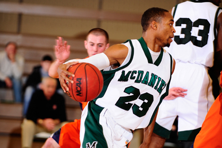 McDaniel works overtime to down Goucher