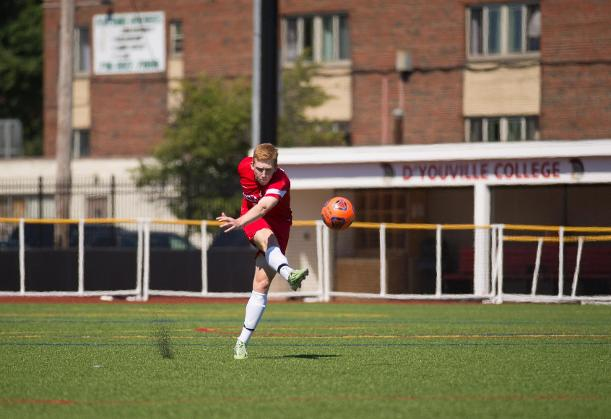 Hammer's Late Strike Leads D'Youville to First Conference Win