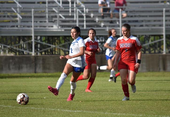Blinn Women's Soccer Shutouts Northeast Texas, 5-0