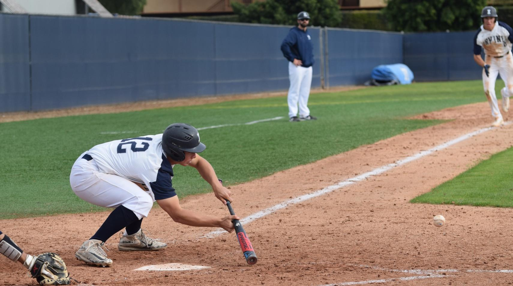 Baseball team wins in 12 and then ties in home doubleheader