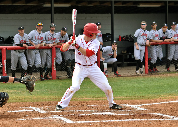 Jordan Criswell was 3-for-5 with two runs in Sunday's 6-3 win over 14th-ranked Piedmont.