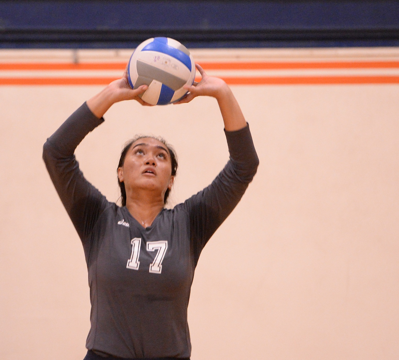 Caina paces offense in four-set win over Gauchos