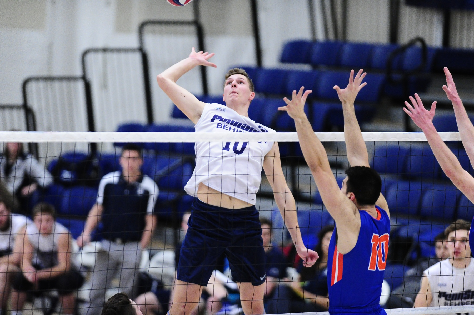 Men's Volleyball Defeats D'Youville in Three
