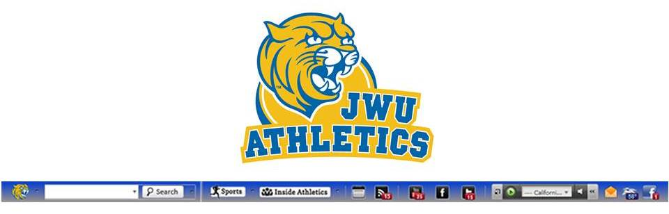 New! JWU Charlotte Athletics Browser Toolbar