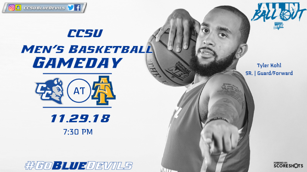 Men's Basketball Travels to North Carolina A&T on Thursday