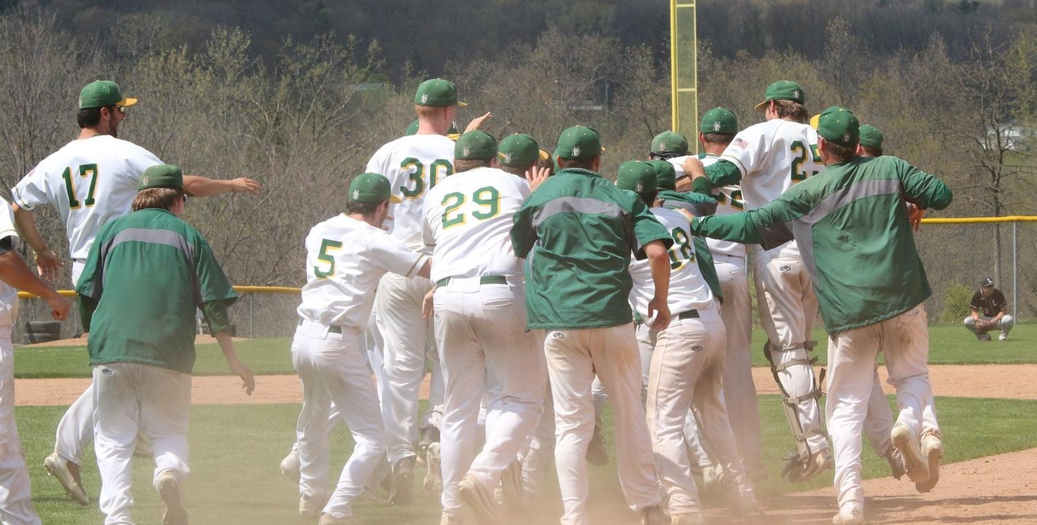 Keuka College had their fifth walkoff victory of the season on Tuesday -- Photo by Ed Webber