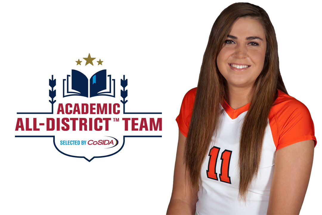 Tong Named Academic All-District