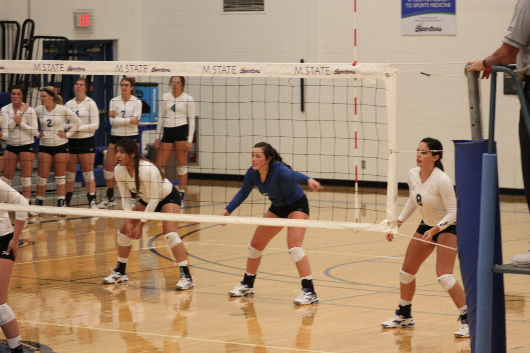 M State Loses Five Set Match to Rochester