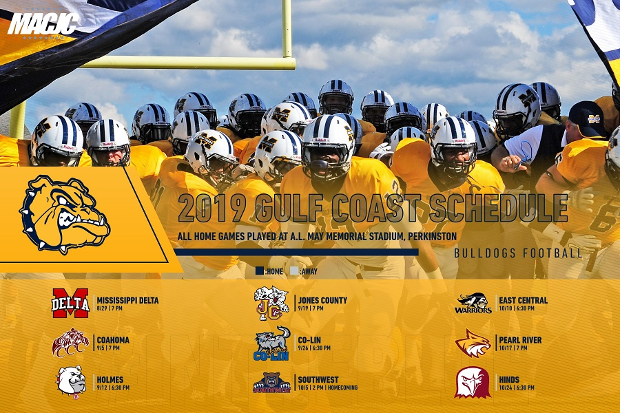 MS Gulf Coast CC releases football schedule