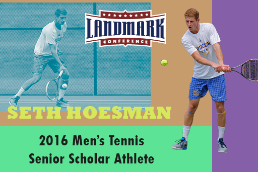 Landmark's Top Academic Award Goes to Hoesman