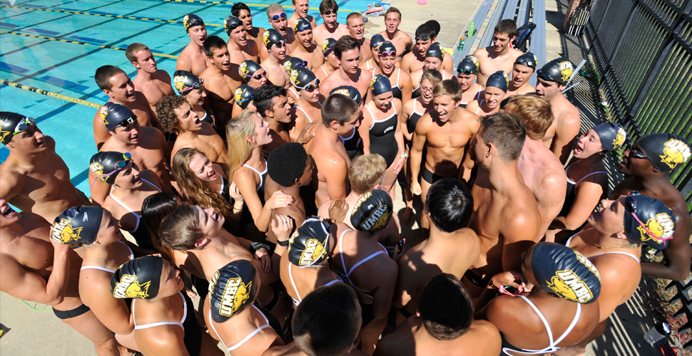 UMBC Swimming and Diving Has Strong Showing Against Bucknell