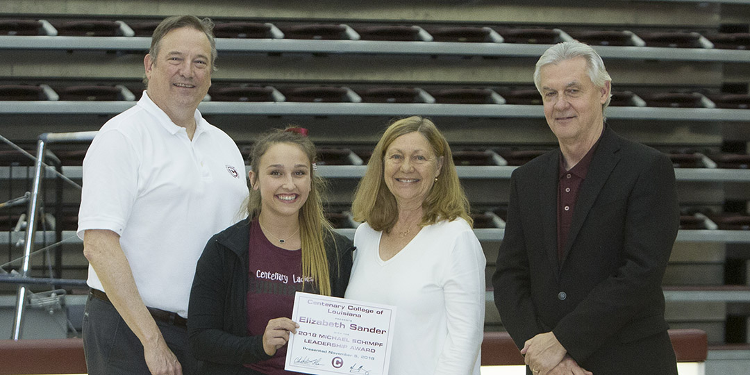 Liz Sander Honored with the SCAC Character and Community Award