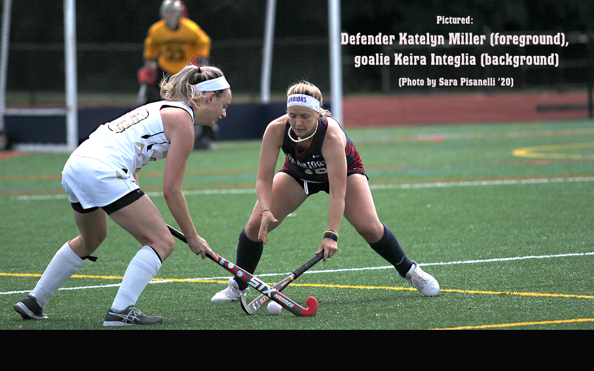 Field Hockey: Warriors Can't Capitalize on Dominant Defense in Falling Under .500 in Little East Following 1-0 Loss at UMD