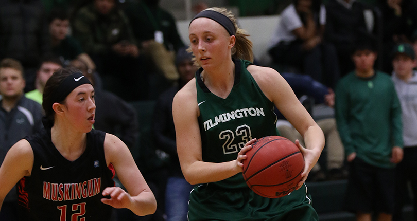 Junior Savannah Hooper led the team with 15 points as the Wilmington College women's basketball team advanced to the OAC Championship game for the first time since 2007. (Wilmington file/John Swartzel)