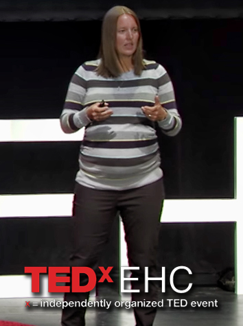 Women's Soccer Coach Linda Schirmeister-Gess Speaks at TEDx Program