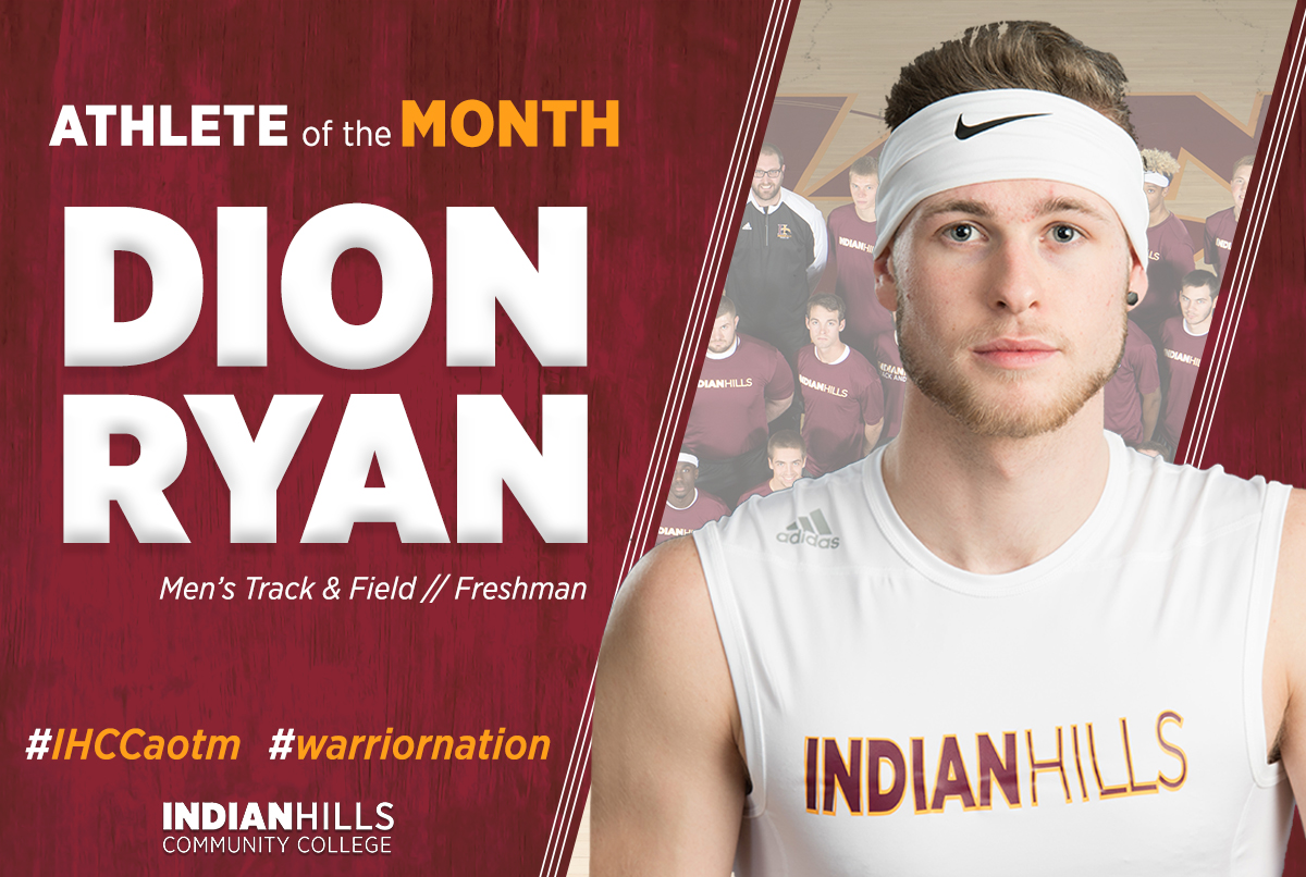 Athlete of the Month - Dion Ryan