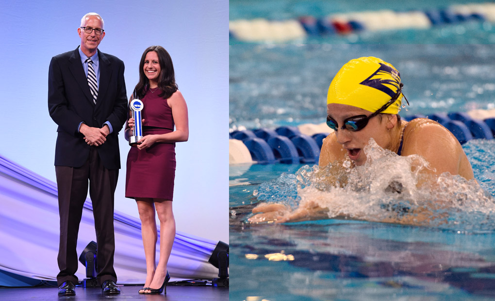 Elizabeth Aronoff Receives NCAA Top 10 Award