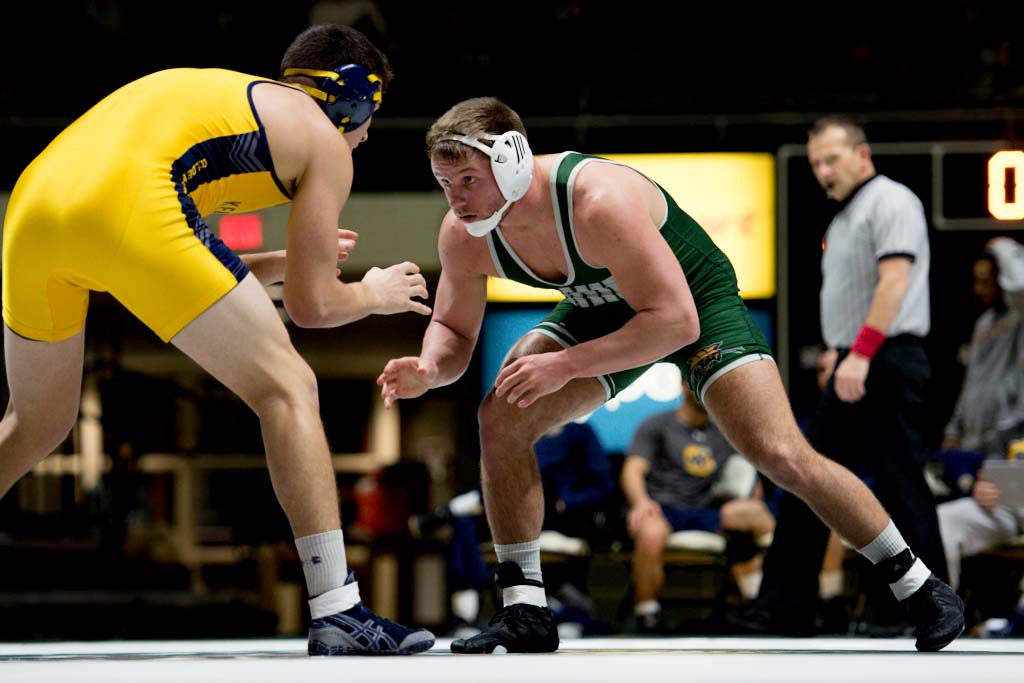 Ohio Wrestling Closes Out Regular Season at Maryland