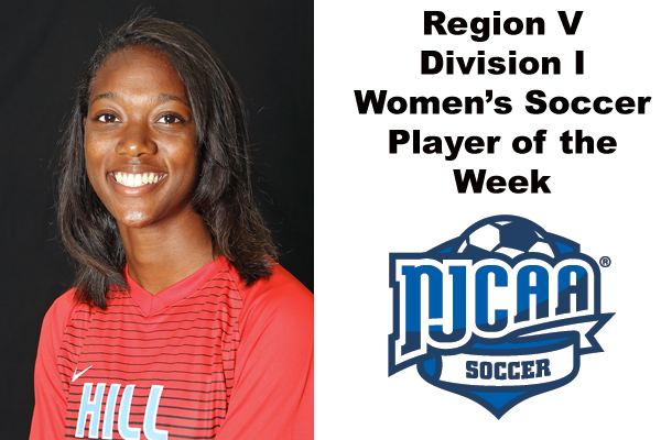 Region V Division I Women's Soccer Player of the Week
