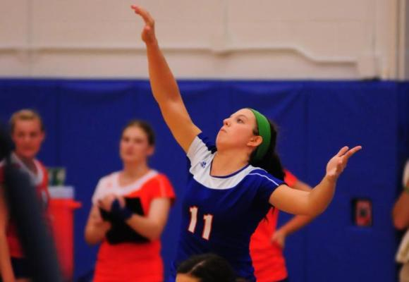 Volleyball Suffers 3-1 Defeat to No. 25 Bowdoin