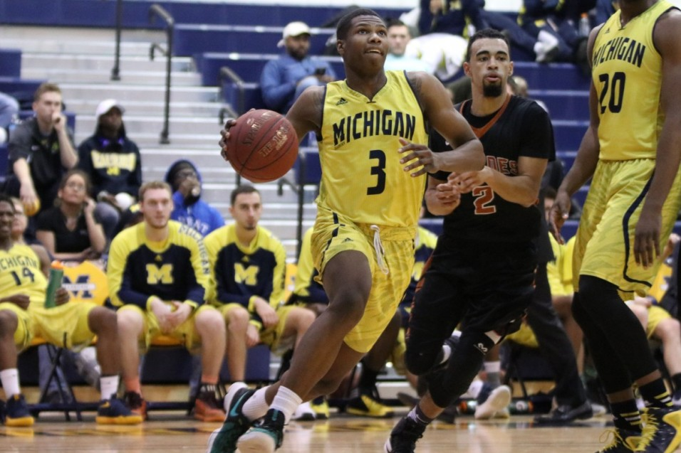 Photo for UM-Dearborn sets new program wins record, tops Lourdes 75-60