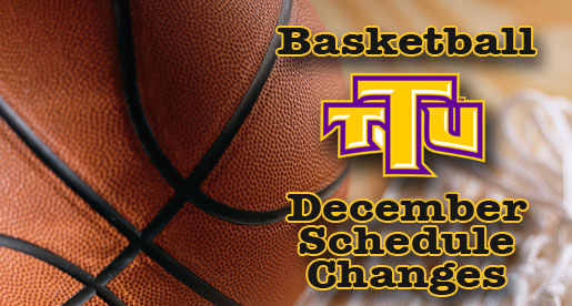 Fans reminded of changes to basketball schedule this week