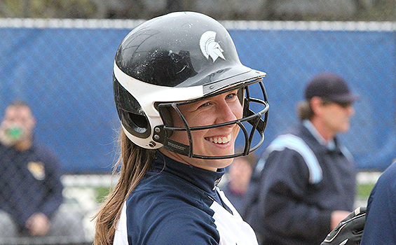 Ashley Parello Homers Four Times, Spartans Split With an Upset Versus No. 9 Emory at UAA Softball Championship