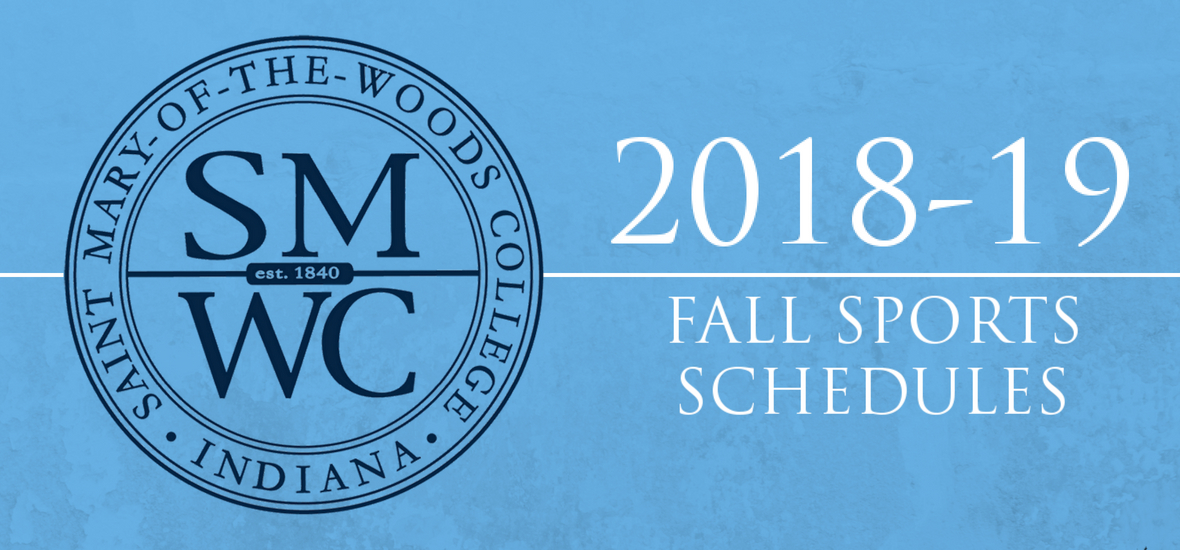 SMWC Athletics Announces 2018-19 Fall Sports Schedules