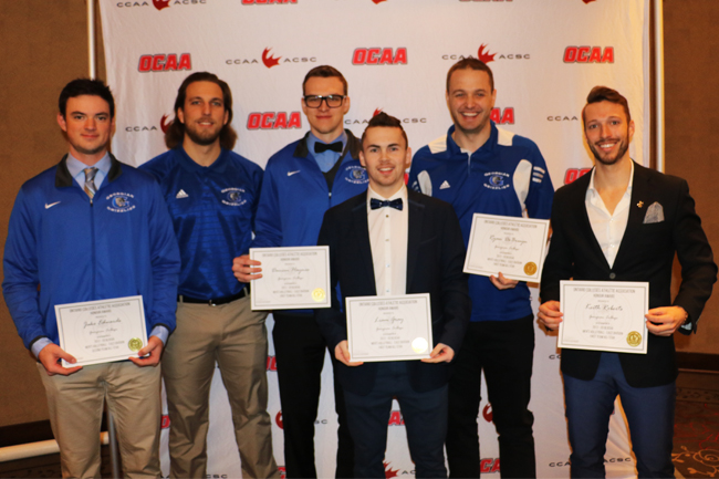 GRIZZLIES MEN'S VOLLEYBALL EARN INDIVIDUAL AWARDS